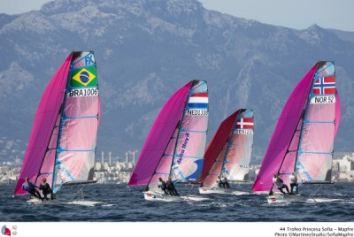 Women sport news - Lotte Meldgaard Pedersen undefeated on home waters