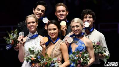 Women sport news - Madison Chock and Evan Bates Win First Four Continents Title