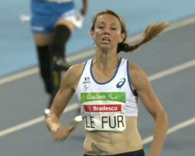Women sport news - Marie Amelie Le Fur wins the 400m T44 with a new World Record in Rio