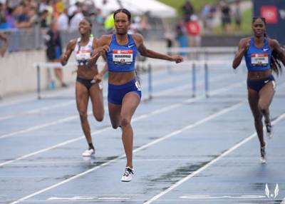 Women sport news - Muhammad breaks 16-year-old women's 400m hurdles world record