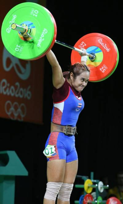 Women sport news - Olympic champion among 4 Thai weightlifters to test positive