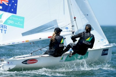 Women sport news - Olympic Medallists Shine At ISAF Sailing World Cup Melbourne