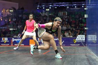Women sport news - Perry Upsets Defending Champ El Sherbini as PSA World Tour Finals Get Under Way in Cairo