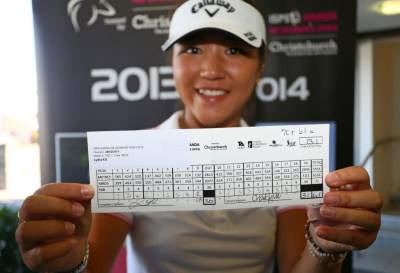 Women sport news - Poor rehearsal, great performance as Ko sets new course record