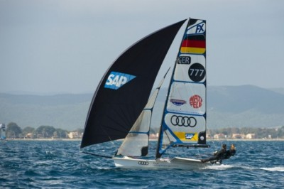 Women sport news - Qualification Series Concludes At ISAF Sailing World Cup Hyères