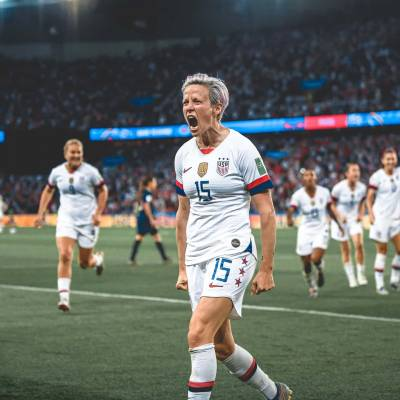 Women sport news - Rapinoe scores twice to seal semi final berth