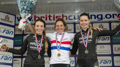 Women sport news - Roe And Roberts Take Silver And Bronze In GB Criterium Championships