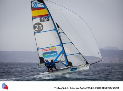 Women sport news - Tale Of Two Halves Across Palma Bay At ISAF Sailing World Cup Mallorca