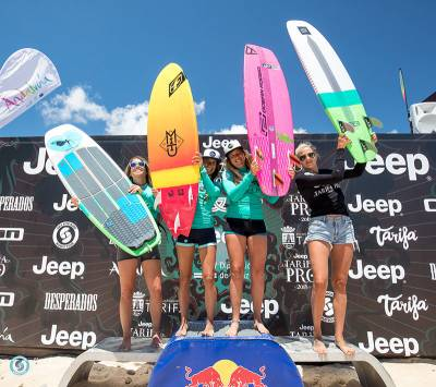 Women sport news - The Jeep Tarifa Pro Delivers the Very First Air Games Winners!
