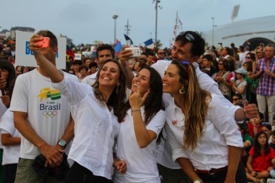 Women sport news - Thousands Attend Santander 2014 ISAF Sailing World Championships Opening Ceremony