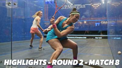 Women sport news - US No.1 Sobhy Gets Under Way at J.P. Morgan Tournament ofChampions