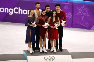 Women sport news - Virtue and Moir Smash Record for Gold