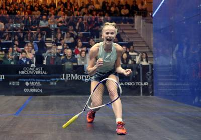 Women sport news - Whitlock Shocks US No.1 Sobhy to Reach Third Round of J.P. Morgan Tournament of Champions