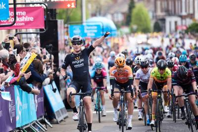 Women sport news - Wild wins opening stage of Asda Tour de Yorkshire Women's Race