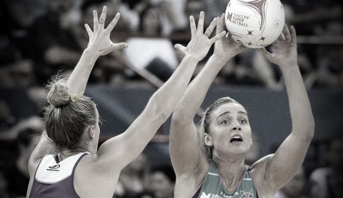 Women sport news - Melbourne Vixens (66) defeat Queensland Firebirds (