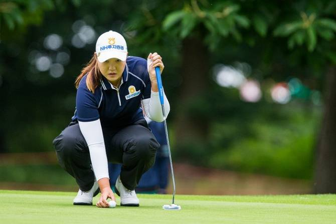 Women sport news - Mirim Lee keeps the edge on day two at Woburn