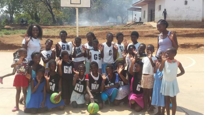 Women sport news - MoJoAFRICA to support the Mary Waya Netball Academy, Malawi.