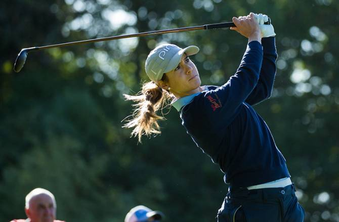 Muñoz and Sagstrom share early lead at Lacoste Ladies Open de France
