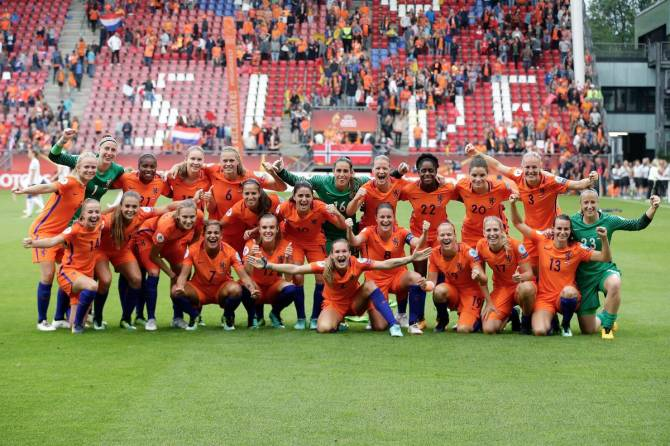 Women sport news - Netherlands and Denmark Pick up Wins in Euros Opening Matches