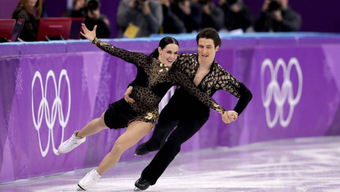 New World Record for Ice Skaters Virtue and Moir