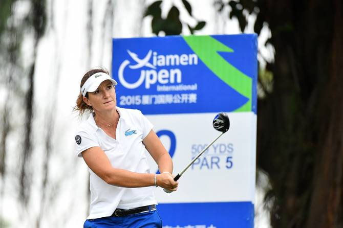 Women sport news - Nocera joined by Yan at halfway Xiamen-International Ladies Open in China.