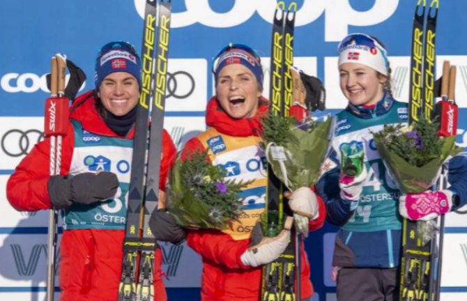 Women sport news - Norway starts into Ski Tour 2020 with a full podium sweep