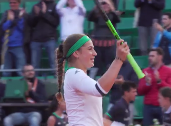 Women sport news - Ostapenko fights back for landmark win
