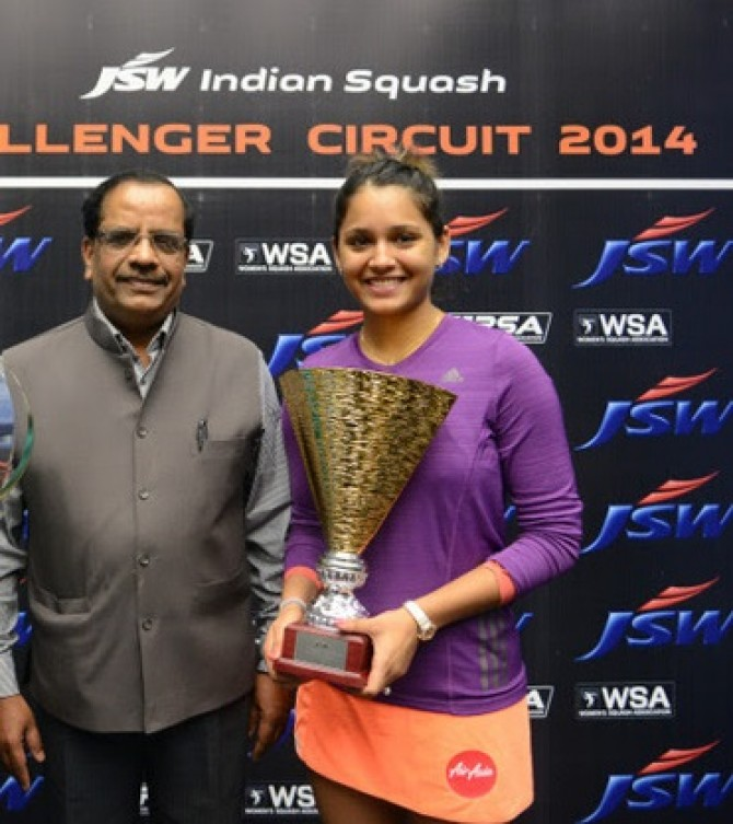 Women sport news - Pallikal Powers To Second Indian Circuit Title
