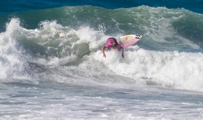Women sport news - Pauline Ado Wins  Roxy Pro Casablanca