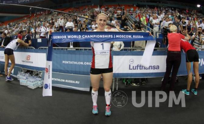 Women sport news - Pentathlon-SAROLTA KOVACS IS THE NEW WORLD CHAMPION
