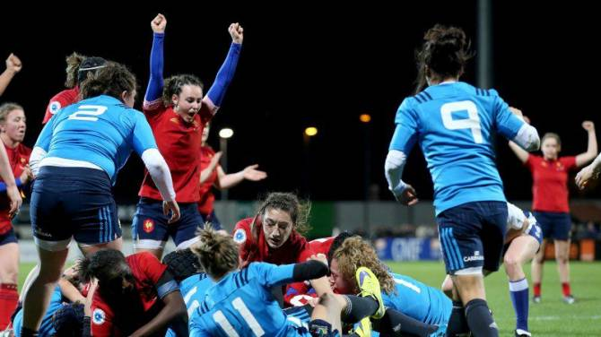 Women sport news - Revenge is sweet for France against Italy