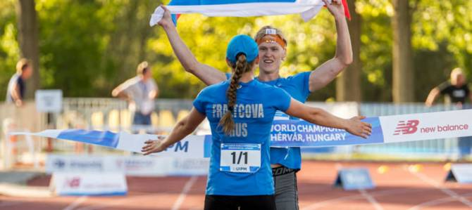 Women sport news - Russian win Junior World Mixed Relay Championships