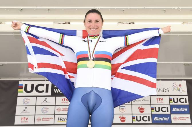 Women sport news - SAME OLD STOREY AS DAME SARAH TAKES TIME TRIAL GLORY