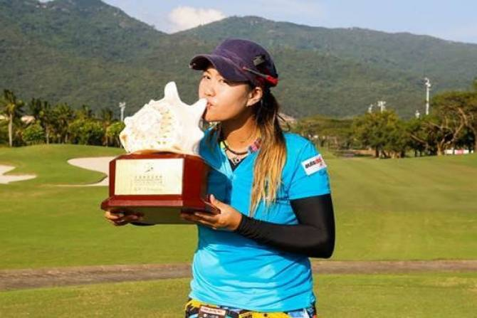 Women sport news - Sangchan returns to defend Sanya Ladies Open title at Yalong bay