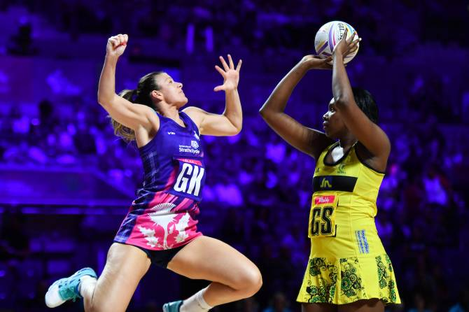 Women sport news - Scotland start strong but Jamaica come through