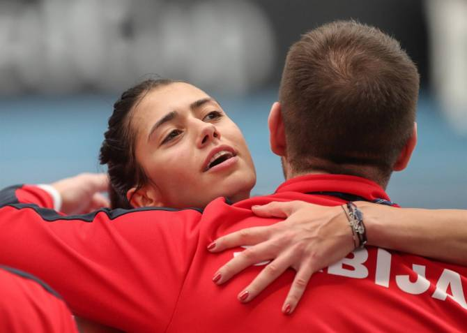 Women sport news - Serbia and Croatia Secure open day wins in Bath