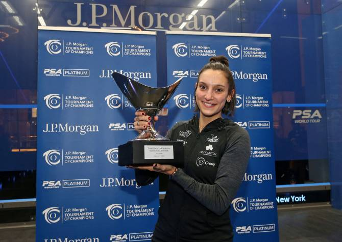 Women sport news - Serme Qualify's For World Tour Final After ToC Victory