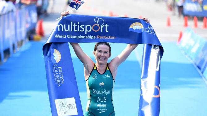 Women sport news - Sheedy-Ryan (AUS) claims Duathlon World Champion Title in Penticton