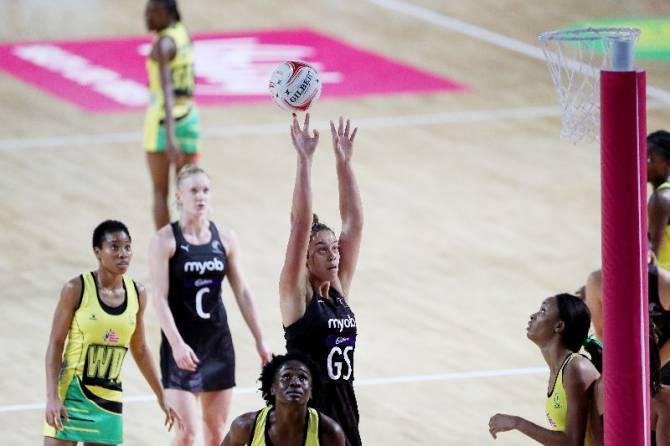 Women sport news - Silver Ferns power past Jamaica in Birmingham