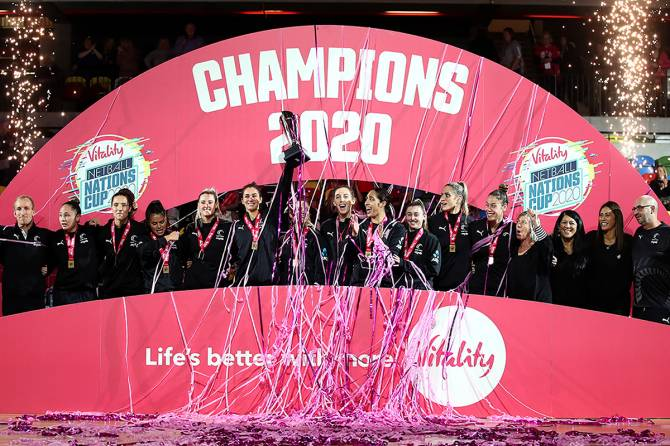 Women sport news - Silver Ferns surge past Jamaica to win Nations Cup final