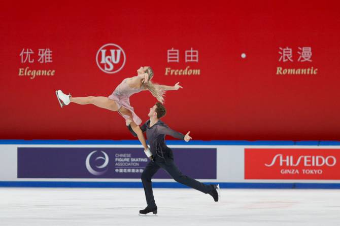 Women sport news - Sinitsina/Katsalapov (RUS) clinch first Grand Prix gold in Chongqing