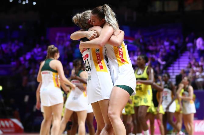 Women sport news - SOUTH AFRICA BEAT JAMAICA TO TOP GROUP C