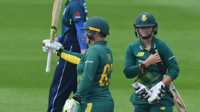 Women sport news - South Africa win first ODI despite Brunt fight back