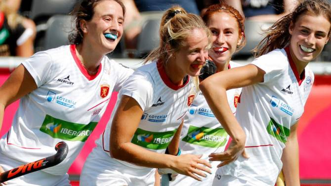 Women sport news - SPAIN SHOOT THEIR WAY TO FIRST EURO MEDAL IN 16 YEARS