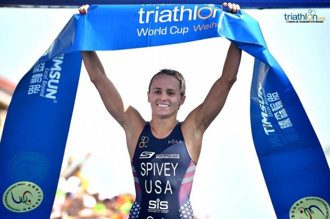 Spivey wins emphatic World Cup gold in Weihai