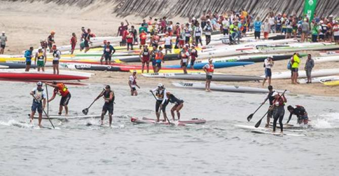 Women sport news - Stand Up Paddling World Championships