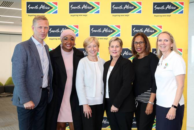 Women sport news - TEAM SOUTH AFRICA 2023 CONGRATULATE LIVERPOOL ON THEIR VITALITY NETBALL WORLD CUP