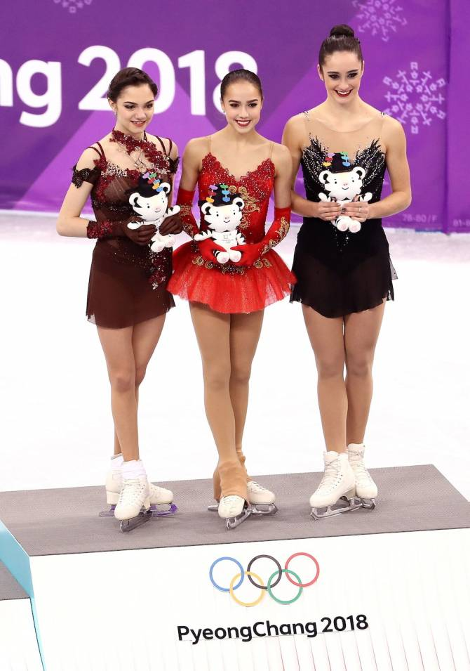 Teen Zagitova glides to women's figure skating Gold