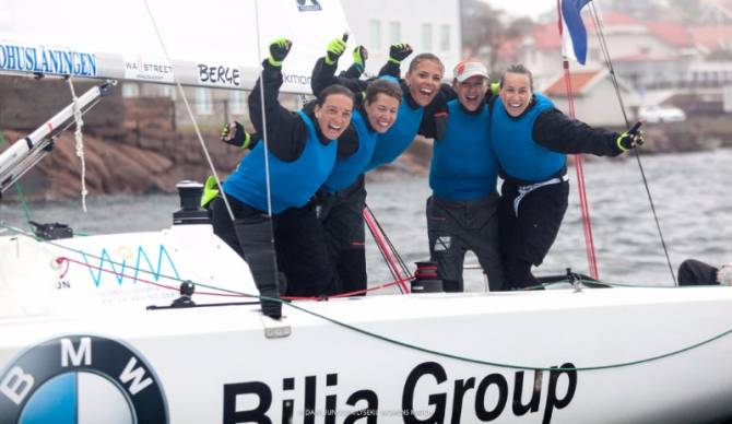 The Dutch Women's Match Racing Team Wins in Lysekil