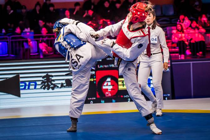 Women sport news - Third day of World Taekwondo Grand Slam Champions Series sets up intriguing semi-finals